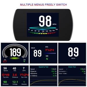 Image 2 - WiiYii T800  HUD OBD2 head up display car Screen On board Car HUD GPS Overspeed Warning Windshield Projector auto accessories