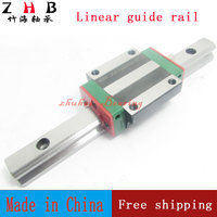 2pcs Linear Rail HGR20 L1500mm Cnc Parts And 4pcs HGW20CA Linear Guide Rails Block Cnc Parts