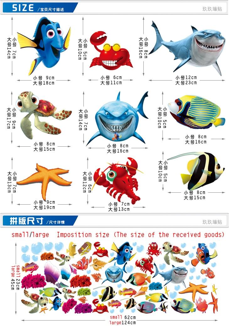 Finding Nemo Fish Types