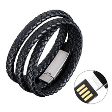 bracelet usb cable data line wire Charger quick charge lighter light for phone charging iphone x se 8 plus 5 5s seadapter 4.0