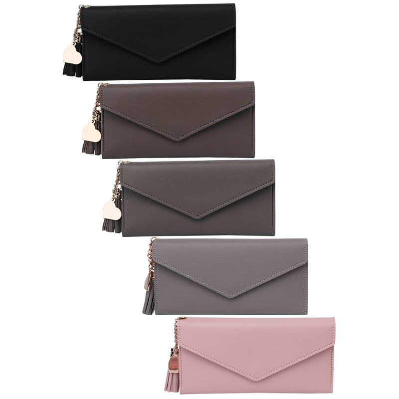 Fashion Lady Women Faux Leather Clutch Wallet Long Card Holder Case Purse Handbag New Hot saf lady s pu leather wallet clutch long handbag phone case red