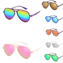 NewKids Retro Anti-UV Sunglasses Color Film New Cool Boy Girls Glasses luxury sunglasses