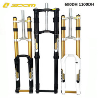 ZOOM 680DH RA magnesium alloy mountain bike shoulder fork downhill downhill fork 26 / 27.5of 180mm disc fork