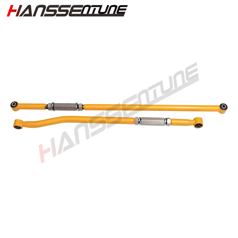HANSSENTUNE Front+Rear Adjustable Panhard Rod Bar For LC 80 seriesHANSSENTUNE Front+Rear Adjustable Panhard Rod Bar For LC 80 series