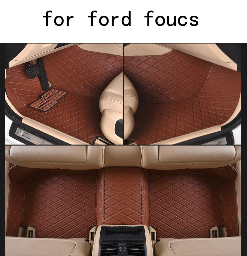OUZHI For Ford Foucs Firm Pu Leather Wear Resisting Car