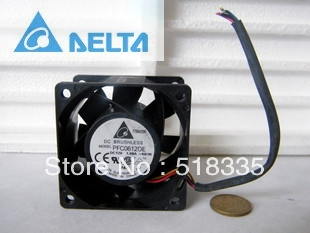 Original Delta PFC0612DE 12V 1.68A 6CM 60MM 60*60*38MM powerful dual  ball bearing cooling fan original delta afb0912shf 9032 9cm 12v 0 90a dual ball bearing cooling fan