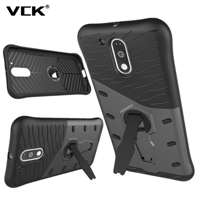 100% authentic ae33d dc238 US $2.45 |VCK For Moto M G4 G4 Plus Play Z force E3 Z Play Z Droid G5 Plus  Case Armor Hybrid Back Cover Dual Layered TPU PC 360 Degree-in Fitted Cases  ...