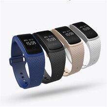 A09 сердечного ритма Смарт Браслет спортивные часы крови Давление кислорода SmartBand Bluetooth SMS вызова напомнить для IOS Android Samsung