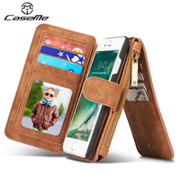 Case For Iphone 5s Cover Wallet Flip Leather Luxury Full Phone Protective Brown For Apple Iphone