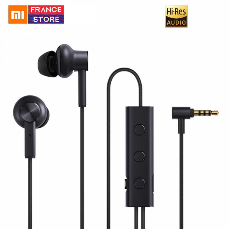 Xiaomi ANC Earphone Active Noise Cancelling Earphone 3.5mm jack Interface In-Ear Mic Line Control for Xiaomi A1 Redmi 4X