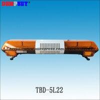 TBD 5L22 Super Bright LED lightbar ,100W Siren+100W Speaker ,Amber Warning lights,Emergency Warning Lightbar Truck Lightbar