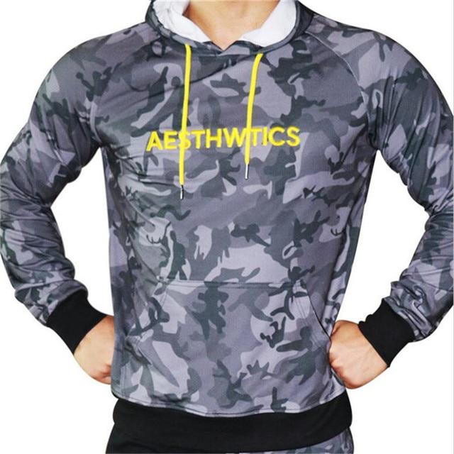 GYMLOCKER Brand Male Hoodies Top Pullover for Autumn Men Sweatshirt Clothe Long Sleeve Pocket Warm Hooded Sweatshirt Tracksuits 3
