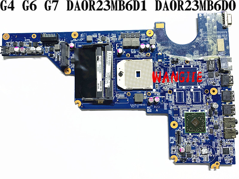 For HP Pavilion G4/G6/G7 DA0R23MB6D0 DA0R23MB6D1 motherboard 649948-001 laptop motherboard amd integrated 100% fully tested
