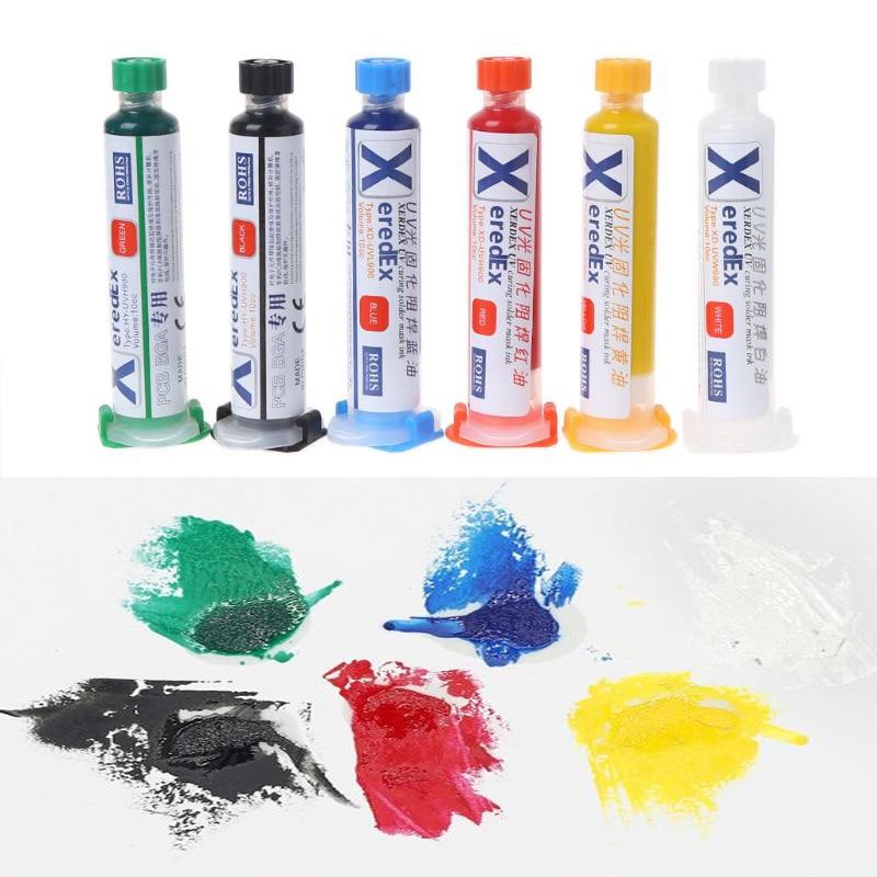UV Solder Mask PCB BGA Paint Prevent Corrosive Arcing Welding Fluxes Oil Soldering Paste Flux