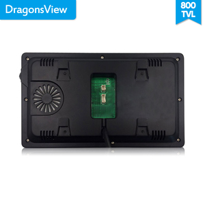 Image 4 - Dragonsview 7 Inch Video Door Phone Intercom System White/Black Video Door Entry Panel Intercoms for Private Home Call Panel