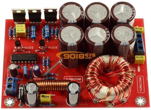 Special Offers 180 w DC DC12V single positive to negative double DC + 32 v output voltage booster car amplifiers switching power supply board