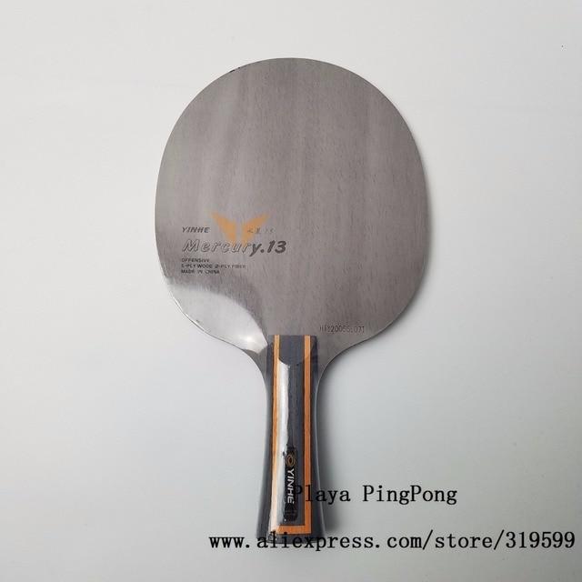 Yinhe Y13 Mercury.13 Y-13 Y13 Y 13 Table Tennis carbon fiber Loop+Attack Table Tennis Blade for PingPong Racket