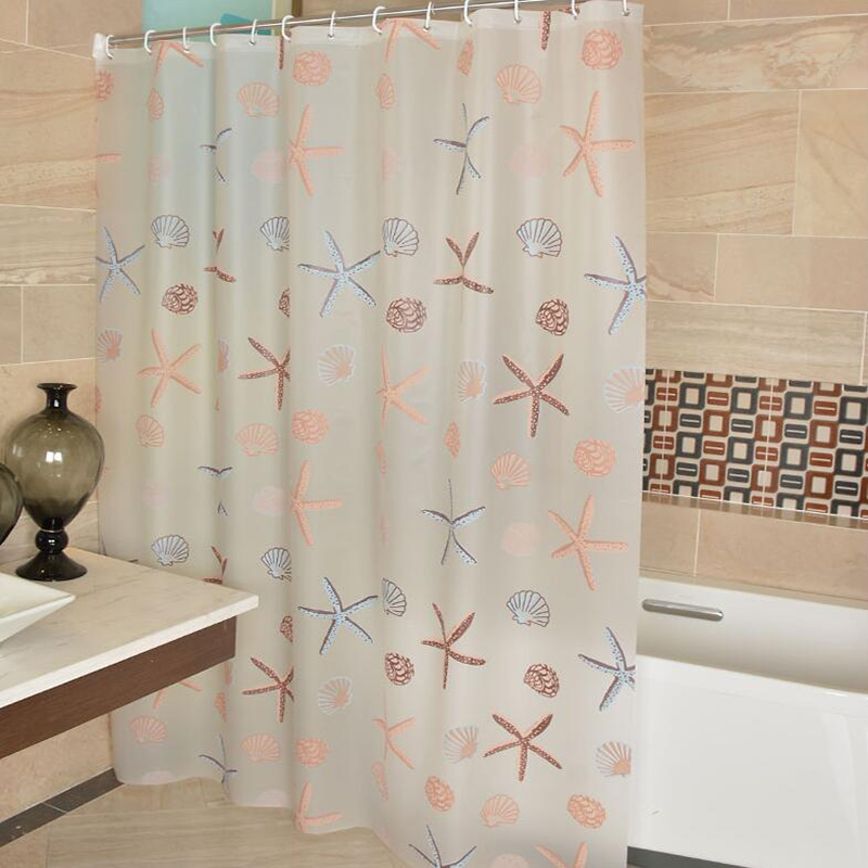 2pcs modern bathroom shower liner