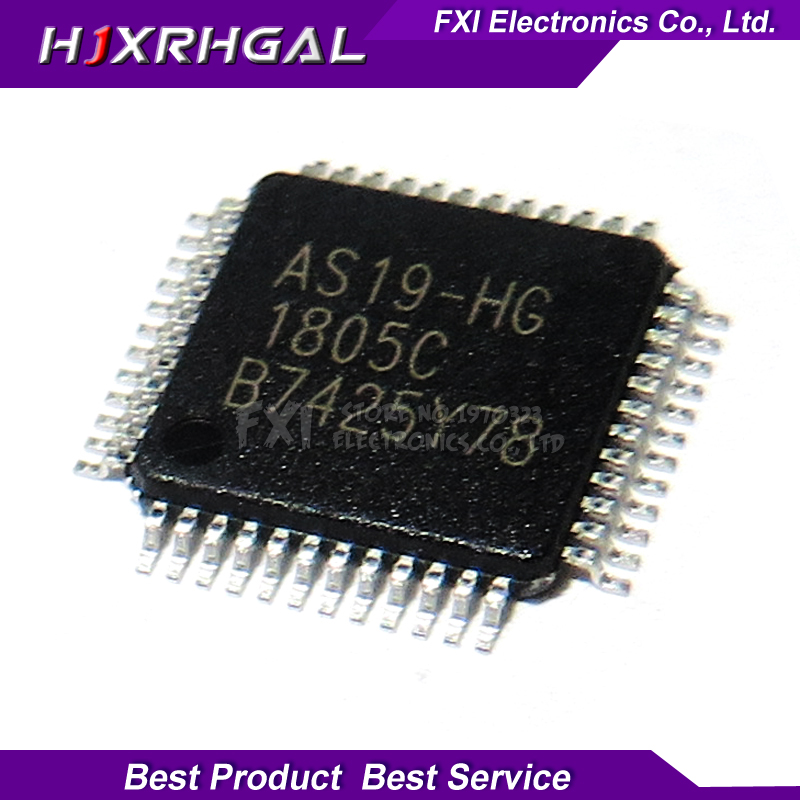10 Pcs AS19-H1G AS19 QFP-48 Original Integrated Circuit NEW IC