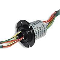 SNH015A 24 полый вал, скользящее кольцо, диаметр 15 мм, наружный диаметр 32,8 мм, 24 ходовое 2А кольцо коллектора сигналов