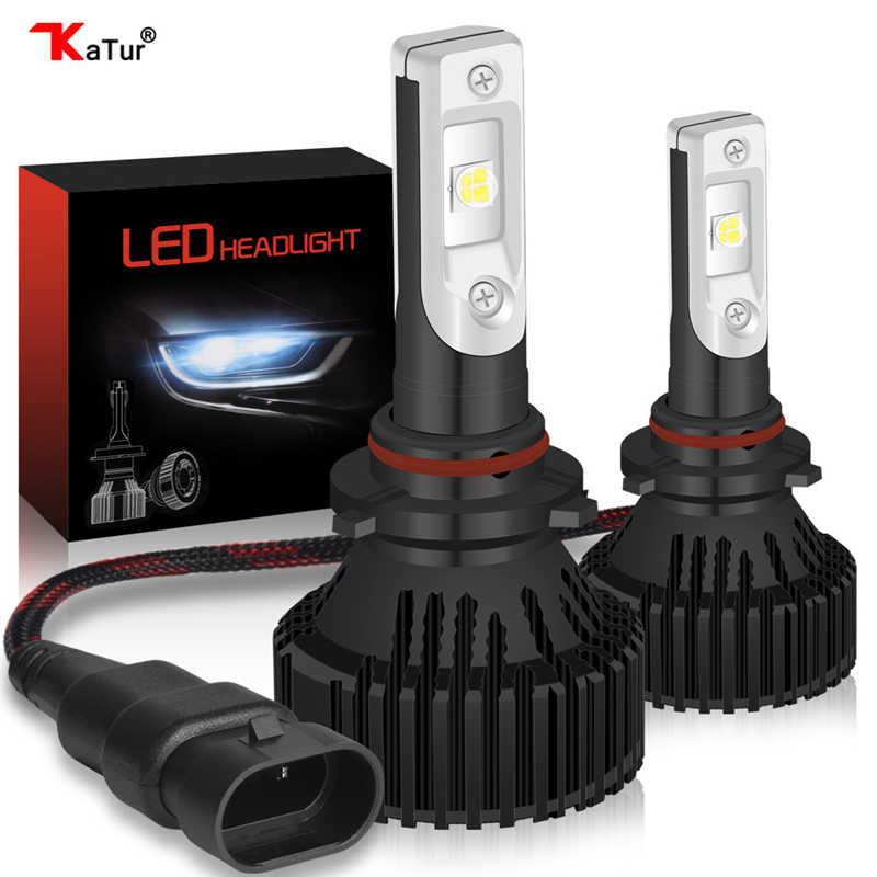 1 pair 9005/HB3 9006/HB4 H10 Led Headlight Kit External Lighting Fog Light Lamp CreeLed XHP50 8000Lm 12-24V Driving Led Bulb