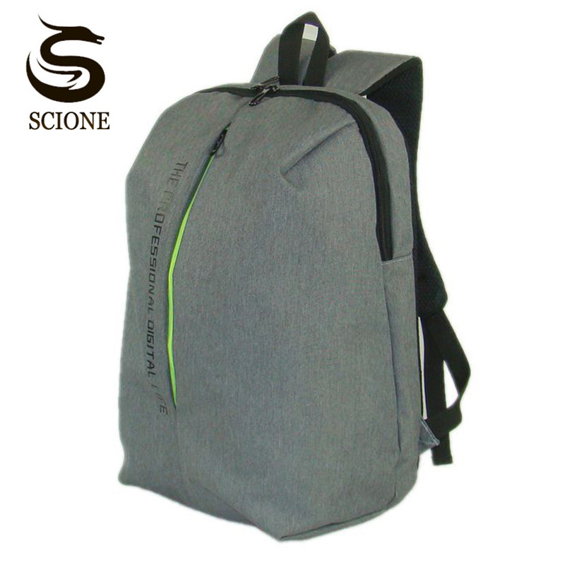 Scione Waterproof Laptop Backpack High Quality Anti-thief Backpack for Men Women School Bag Couple Large Capacity Travel Bagpack large capacity kids school backpack for primary student school bag girls and boys waterproof backpack high quality travel bag