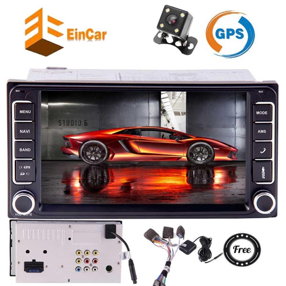 Автомобильный ПК Bluetooth Системы без DVD Поддержка Зеркало Ссылка для телефонов в тире 7 дюймов стерео для Toyota corolla с Wince