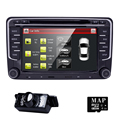 2 din 7 дюймов HD 800x480 экран автомобиля dvd gps для vw passat b6 golf 5 polo jetta РСН 510 стерео радио