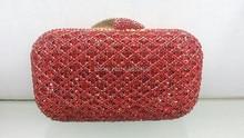 Versandkostenfrei!! A15-16, rot mode top kristallsteinen ringkupplungen taschen für damen schöne party tasche