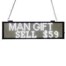 34CM SMD P5mm white LED Display Programmable Scrolling Message led sign Board Multi-color Optional yellow blue green Same Price