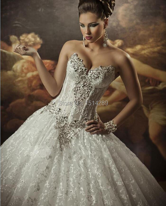 Dramatic Ball Gown Wedding Dresses: 2016 Women Dress Royal Dramatic Sexy Sweetheart Vestidos