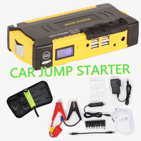 Mini Multifunction AUTO Emergency Start Battery Charger Pack Engine Booster Car Jump Starter 4 USB Power