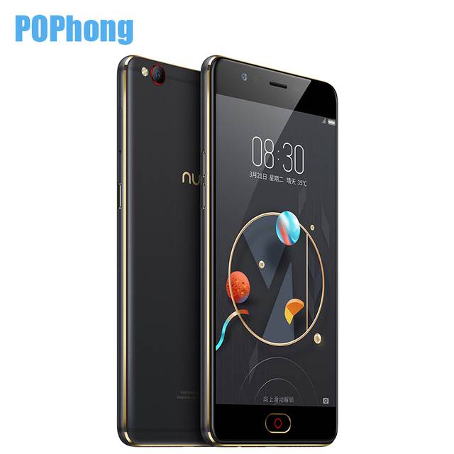 Original Nubia M2 Lite 4GB RAM 32GB ROM Android Mobile Phone 5.5 inch Capacitive Touch MT6750 Quad Core LTE Dual SIM 3000mAh