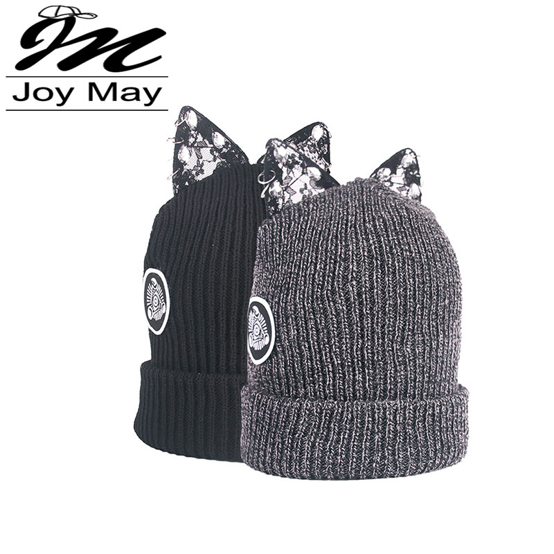 JOYMAY Women Winter Warm Braided Crochet Knitting Hat Girl Beret Beanie Ball Cap WM030 lovely 4 colors kids baby crochet knit cap knitting winter warm beret hat cap bb75