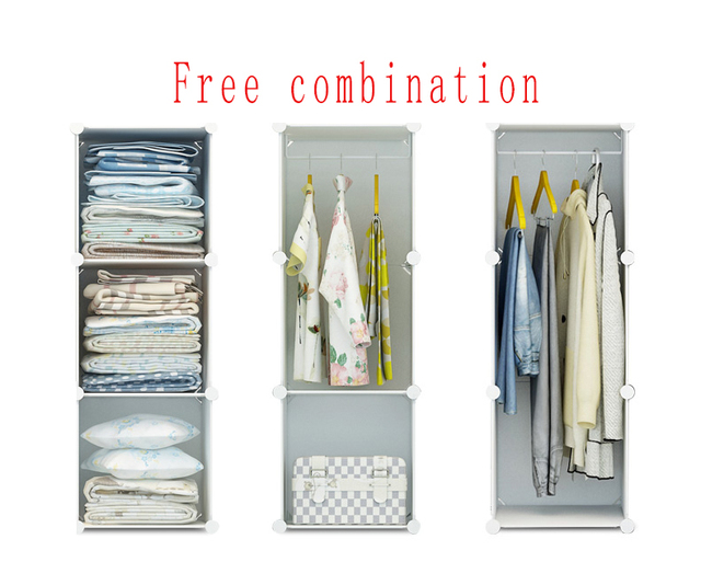 Free shopping Hot selling 24 kinds of simple assembly of plastic wardrobe, DIY portable wardrobe,dandelion pattern