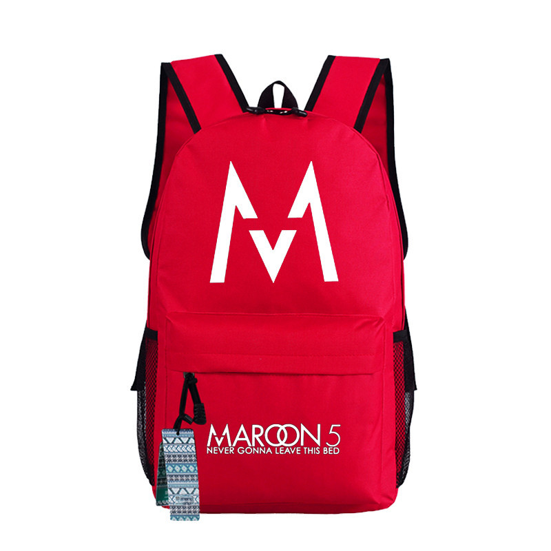 Maroon 5 Fans Cosplay Casual backpack Bag teenagers Men womens Student School Bags travel Laptop Bags