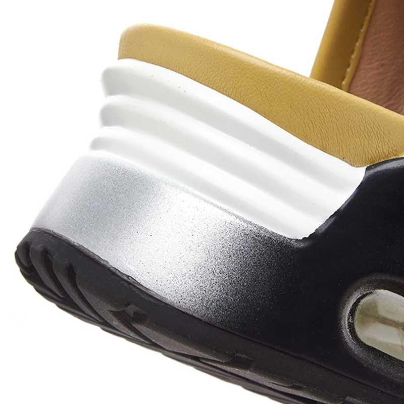 Dedo Zapatos Negro Verano Pie 2019 Mujeres Botas Genuino Marca blanco Calidad Del Plataforma amarillo Mujer Moda Cremallera Abierta De Cuero Vaquero Sarairis Las W6R0OnwZZq