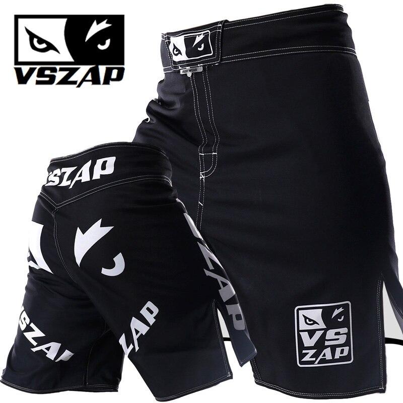 Desempenho Técnico VSZAP Calções Esportes Treinamento E Competição de MMA Calções Tiger Muay Thai Calções De Boxe Mma Curta