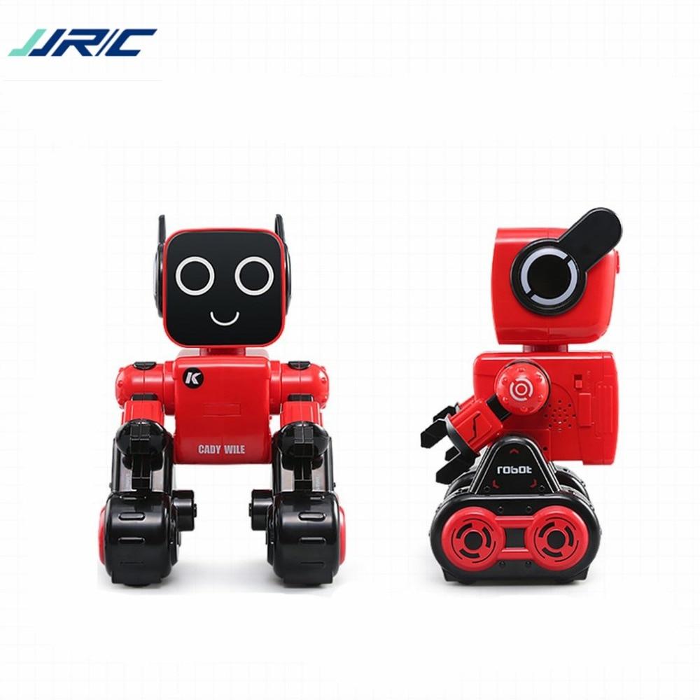 JJR/C R4 Robot 2.4G gestion de l'argent son Interaction geste capteur contrôle Robot anniversaire/noël cadeau Robots hi