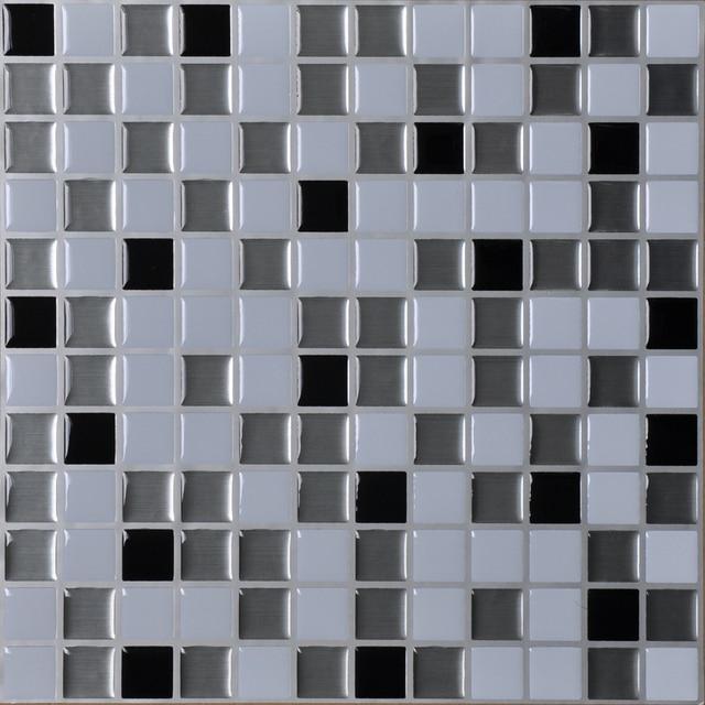 Peel And Stick Wall Tiles 12 X 12 Kitchen Backsplash Tile Resin