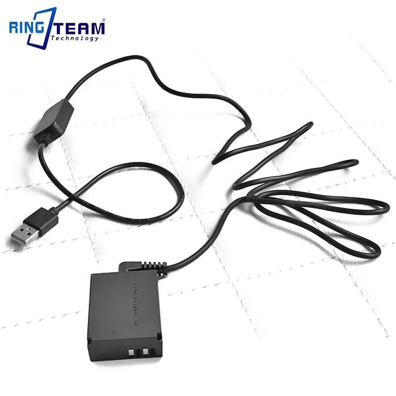 5V 2A Drive ACKE12 ACK-E12 CA-PS700 USB Cable Adapter + LP-E12 DR-E12 DC Coupler For Canon EOS M M2 M10 M50 M100 Cameras
