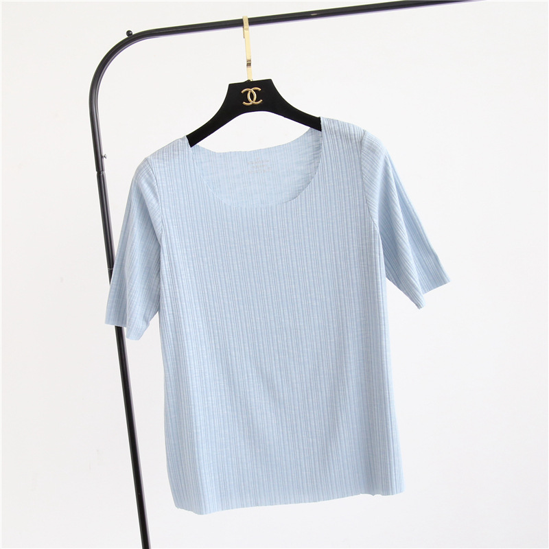 short sleeve cotton tops (2)