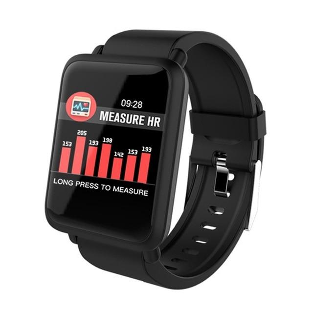 ONEVAN M28 Astuto Della Vigilanza di Frequenza Cardiaca Monitor Braccialetto Misuratore di Pressione Sanguigna Per Il Fitness Tracker IP67 Impermeabile Multi Modalità Sport Banda Intelligente