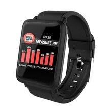 Onevan m28 relógio inteligente monitor de freqüência cardíaca pulseira pressão arterial rastreador de fitness ip67 à prova dip67 água multi modo esporte banda inteligente