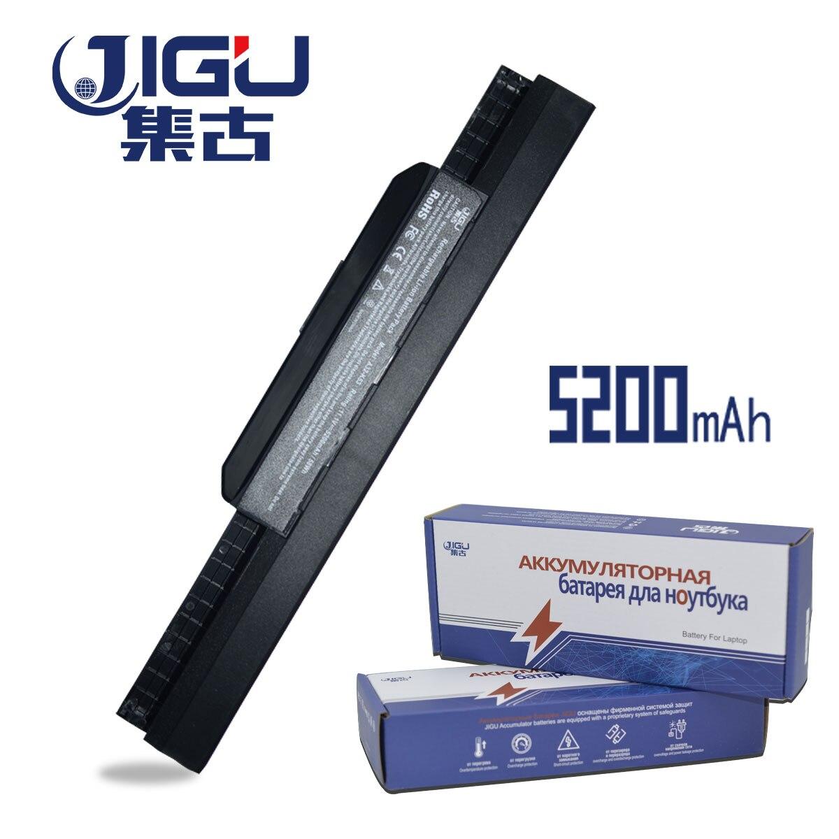 JIGU 5200 MAH Laptop Battery For Asus 6 CELLS A31-K53 A32-K53 A41-K53 A42-K53 A43 A53 A54 A83 K43 K53 P43 P53 X43 X44