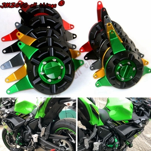 Motorcycle Engine Case Slider Cover Protectors For KAWASAKI Ninja650 Z650 2017-2019 Engine Covers Protectors
