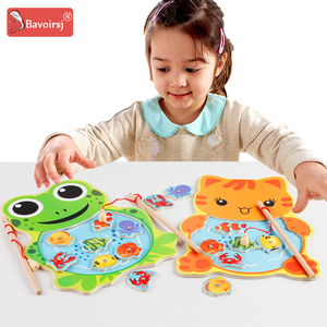 Colorful Painting Baby Toys Wooden Monte
