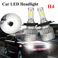 MALUOKASA Car Headlight LEDs HB2 9003 H4 Hi Lo H1 H7 H8 H9 H11 Single Beam