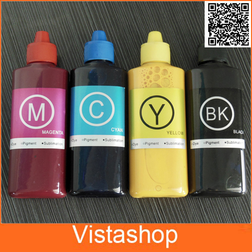 ФОТО 1Set 100ml Bottle Sublimation Ink For Ricoh GC21 GC31 GC41 Ink For Ricoh SG3100 SG2100 e3300N e3350N e5050N GX3000 GX5000