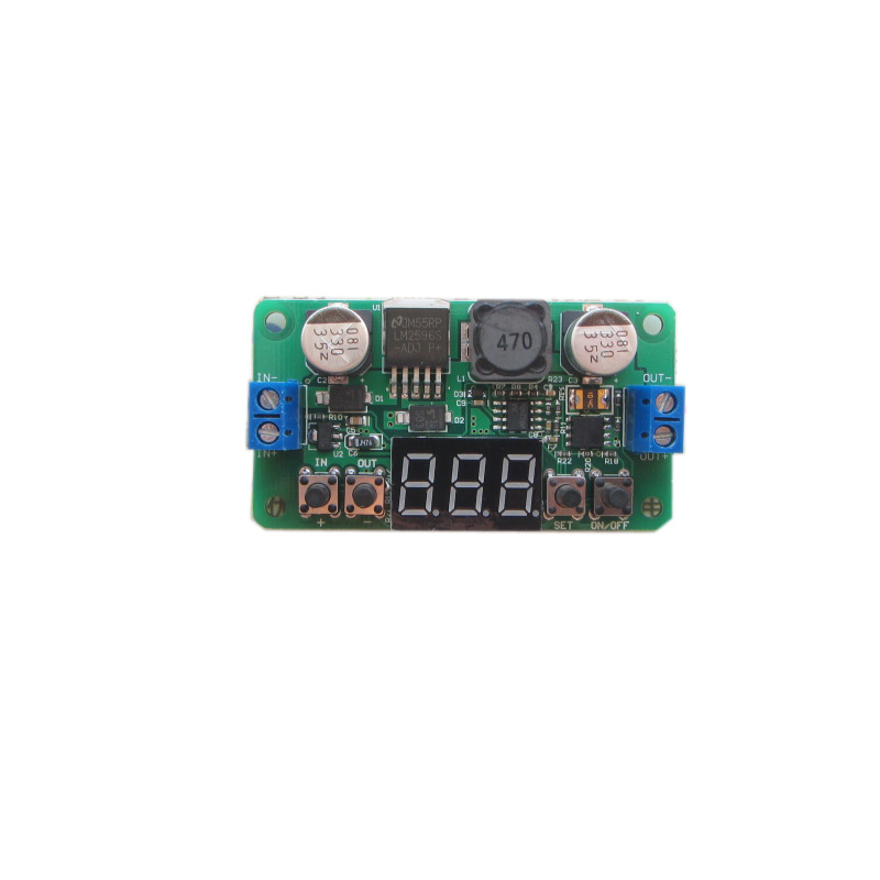 Free Shipping LM2596 with voltmeter display NC DC-DC constant voltage step-down module adjustable regulator powerFree Shipping LM2596 with voltmeter display NC DC-DC constant voltage step-down module adjustable regulator power